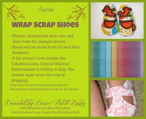 Wrap Scrap Baby Shoes
