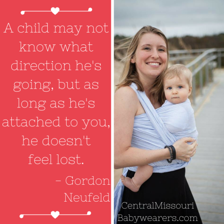 A child may not know what direction he is going, but when he is attached to you, he doesn't feel lost.- Gordon Neufeld